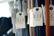 Marca: etiquetas, decoracion de tienda, bolsas, merchandising / by Stefanie Winkelmann