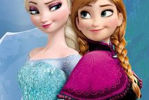 Princess Anna and Queen Elsa / by Sam Starks
