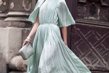 pleats / pleats can be perfection / by anna | farfromtheweddingcrowd