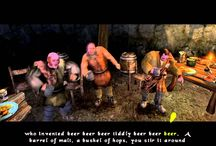 Beer Beer Beer Tiddly Beer Beer Beer! / Beer Beer Beer Tiddly Beer Beer Beer! §  The title is from The Bard's Tale Video game - Charlie Mops's Beer Song   §  For the love of Beer!!!    / by Todd Bremner