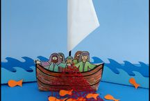 Fishers of Men Bible Crafts / Bible Crafts Relating to Fishers of Men Sunday School Lesson / by Danielle's Place of Crafts