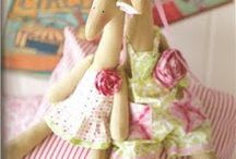 DOLLS TILDA CREATIVE, INSPIRATIONAL, AND MANY DIY / Tilda is a craft brand started by the Norwegian designer Tone Finnanger in 1999. Here is a collection of diy and inspirational Tildas. / by Linda Blunk