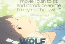 Wolf Children Fan Reviews / See what the fans are saying about one of the best anime movies of the year. Wolf Children is the latest masterpiece from the internationally acclaimed director of Summer Wars. Check out http://wolfchildrenmovie.com/ for more information about the film. / by FUNimation