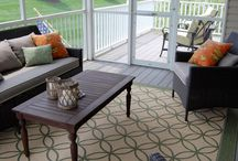 Sun room redo / by Tricia Mitchell