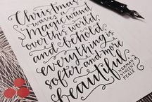 calligraphy obsession / by dabney lee
