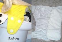 cloth diapers & / by Mandi Wheeler
