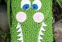 E-Reader cozies / Crocheted e book cozies by Sharon Santorum, creeksendinc, creeks end crochet / by Sharon Santorum