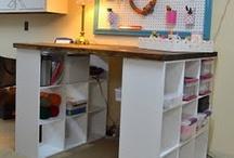 Craft Room Ideas / by Jeanette Krantz