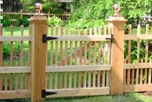 FENCES & GATES - RIBBLE VALLEY / by Longsight Nursery & Landscapes