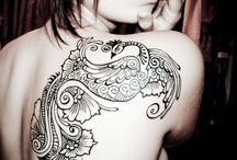 Tattoo's I love<3 / I loveee tattoos! / by Shaelynn Merimon