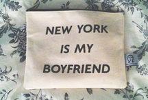 New York is my boyfriend / by HALSTON HERITAGE