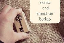 Burlap / by Nancy Lambert