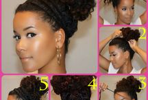 Curly Hair Hairstyles / by Traci Bennett