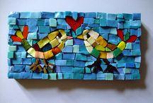 Mosaic Tile Mania / by Christine Shenefelt