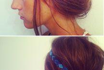 beauty.+.hair / by Nina Fitton