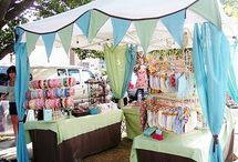 Craft Booth Ideas / by Lizzy A.