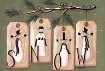 Snowmen / by Lynne Grimstead