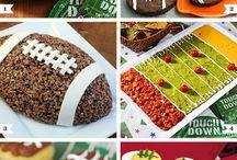 Sports-themed snacks / by Anita Kimball-Scheve