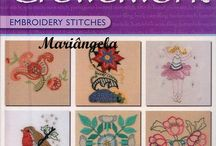 Books and magazines - embroidery and cross stich / by amarena ban
