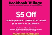 Cookbook Village Promotions / by Cookbook Village