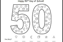 50th day of school- Kindergarten  / by Megan Skogmo