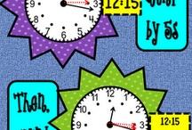 telling time / by Glenda Valencia
