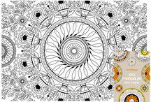 """Coloriages """"Mandalas"""" / by Mireille Mauduit"""