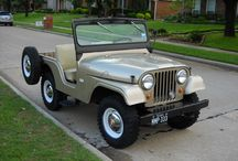 CJ-5 Jeep / 1955-1983 CJ-5 Jeep / by Kaiser Willys Auto Supply