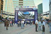 Live screening of India vs Pakistan at Hyundai Fan Park - Gurgaon / Here's what happened at Hyundai Fan Park Cyber Hub, Gurgaon during the legendary ICC World Twenty20 match between India & Pakistan. / by HyundaiIndia