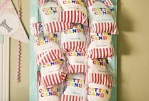 Carnival Party  / Ideas for a carnival themed birthday party.  / by Allie Phillips
