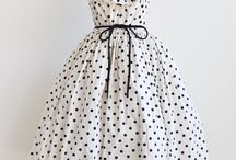 Dresses 1940-1950 I love this style!  / by Chene Baker