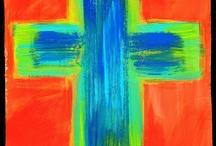 Paint along ideasCrosses / by Torri Bates Janzen