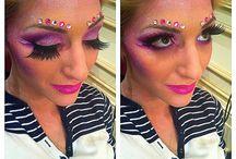 Halloween make up  / by Adriana Salazar Manrique