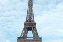 Paris, J'adore! / Paris, France, Eiffel Tower  / by MaRiné Almonte De Díaz