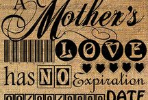 Loving Mother / by Kitty Black
