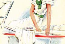 Vintage Patterns / by Janis Moeller