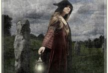 Hedgewitch - inspiration / After her mother dies, Abbie and her Dad move to Devon to make a fresh start, but she's never been good at making new friends, and when she encounters the distinctly odd misfit Erin, her beautiful brother Daniel, and her terrifying mother, who live in a nearly abandoned hamlet, everything changes. Especially when she tries to get Erin to fit in with the rest of the girls at school. / by Alex Townley