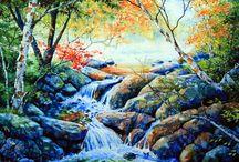 Watercolor Water Scenes / by Sammie Justesen