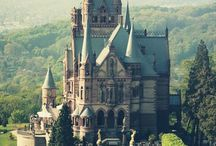 Magestic Castles / Castles from around the world. / by San Diego Mesa College Study Abroad