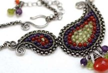 Wire wrapped jewelry / by Phillipa Knight