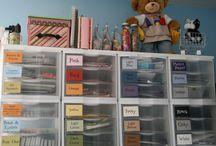 CSI - Paper Storage / by www.CraftStorageIdeas.com
