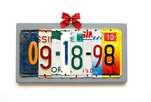 licence plates / by Brenda Recker