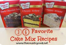 Cake Mix Recipes / by Mariselis Torres