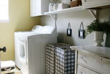 Laundry Rooms / It has to be done...may as well be lovely / by Jennifer Bridgman (The Chronicles of Home)