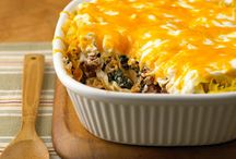 Casseroles/Food / by Tammy Burns