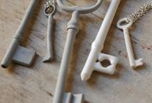 key/lock motifs / by Lisa Erickson
