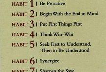 Seven Habits / by Tracy Kiso