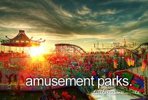 Amusement parks and rides / by Patricia LeSage