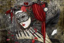 My Digital Art / Art created using scrap book kits.. / by Maree Mulreany