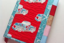 Quilted Journal Covers / I make these for my Etsy shop! / by Pamela Boatright